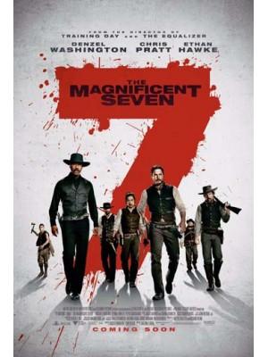 EE2252 : The Magnificent Seven / 7 สิงห์แดนเสือ (2016) DVD 1 แผ่น