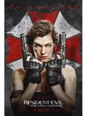 EE2370 : Resident Evil: The Final Chapter อวสานผีชีวะ DVD 1 แผ่น