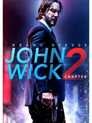 EE2407 : John Wick: Chapter 2 / จอห์น วิค: แรงกว่านรก 2 DVD 1 แผ่น