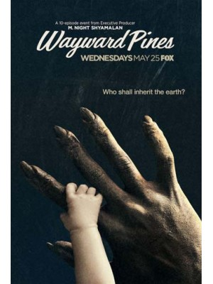 se1597 : ซีรีย์ฝรั่ง Wayward Pines Season 2 [พากย์ไทย] DVD 2 แผ่น