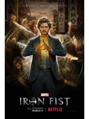 se1609 : ซีรีย์ฝรั่ง Marvel s Iron Fist Season 1 [ซับไทย] DVD 3 แผ่น