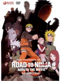 ct0701:การ์ตูน Naruto Shippuden The Movie Road to Ninja DVD Master 1 แผ่นจบ