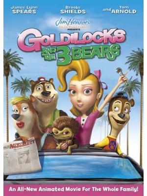 ct0794 :การ์ตูน The Goldilocks and The 3 Bears Show 1 แผ่น