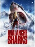 EE1134 หนังฝรั่ง Avalanche Sharks ฉลามหิมะล้านปี DVD Master 1 แผ่นจบ