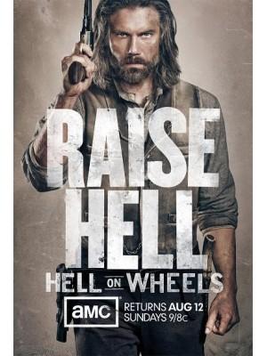 Se1074  ซีรีย์ฝรั่ง  Hell on Wheels Season 2 (ซับไทย)  DVD 3 แผ่นจบ