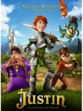 ct0864 : หนังการ์ตูน Justin And The Knights Of Valour จัสติน อัศวินวัยเกรียน DVD 1 แผ่น