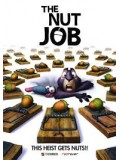 ct0918 : หนังการ์ตูน The Nut Job เดอะ นัต จ็อบ ภารกิจหม่ำถั่วป่วนเมือง DVD 1 แผ่น