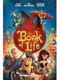 ct1032 : หนังการ์ตูน The Book of Life มหัศจรรย์พิสูจน์รักถึงยมโลก DVD 1 แผ่น