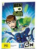 ct0317 : การ์ตูน  BEN10 ALIEN FORCE เบ็นเท็น เอเลี่ยน ฟอร์ซ Vol.2 DVD Master 1 แผ่นจบ