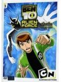 ct0316 : การ์ตูน BEN10 ALIEN FORCE เบ็นเท็น เอเลี่ยน ฟอร์ซ Vol.3 DVD Master 1 แผ่นจบ
