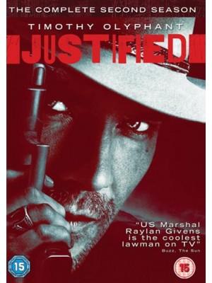 Se1129  ซีรีย์ฝรั่ง JUSTIFIED Season 2 ยุติธรรมปืนดุ ปี 2 (ซับไทย)  DVD 3 แผ่นจบ