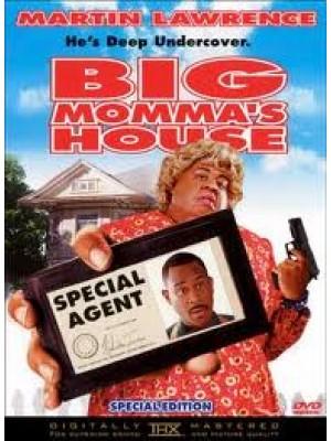 P129 : Big Momma's House 1 บิ๊กมาม่า เอฟบีไอต่อมหลุด 1 DVD 1 แผ่น