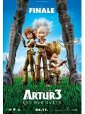 am0044 : Arthur 3: The War of the Two Worlds อาเธอร์ ทูตจิ๋วเจาะขุมทรัพย์มหัศจรรย์ ภาค 3  DVD 1 แผ่น