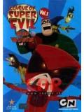 ct0297 : League Of Super Evil Vol. 1-4 ซุปเปอร์มหาวายร้าย ชุดที่ 1-4 DVD 4 แผ่น
