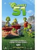 am0047 : หนังการ์ตูน Planet 51 บุกโลกคนตัวเขียว DVD 1 แผ่น