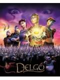 am0052 : หนังการ์ตูน Delgo เดลโก้ อัศวินจอมกล้า DVD 1 แผ่น