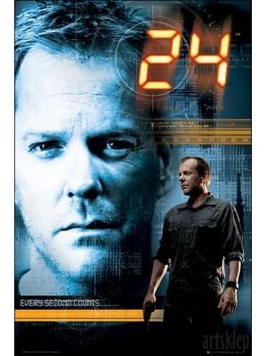 se0029 :  ซีรีย์ฝรั่ง 24 Hour Season 2 (24 ชม. วันอันตราย ปี 2) ซับไทยDVD 6 แผ่นจบ