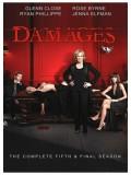 se1007 : ซีรีย์ฝรั่ง Damages season 5 เดิมพันยุติธรรม DVD (ซับไทย) 3 แผ่นจบ