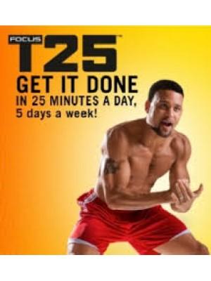 TV278 : Focus T25 ดีวีดีออกกำลังกาย DVD 1แผ่นจบ (จัดให้ในแผ่นเดียว)