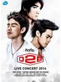 cs376 : ดีวีดีคอนเสิร์ต คิดถึง D2B Live Concert 2014 DVD 2 แผ่น